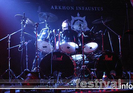 Arkhon Infaustus op Tyrants Festival foto