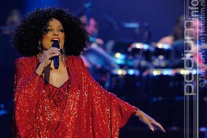 Diana Ross op Symphonica in Rosso Presents: Diana Ross - 16/10 - Gelredome foto