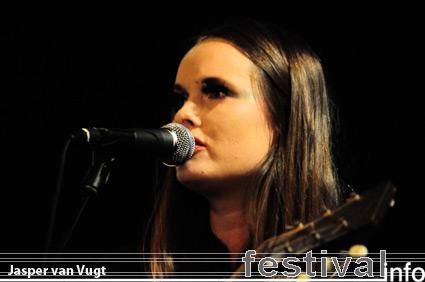 Nina Kinert op Iceland Airwaves 2009 foto