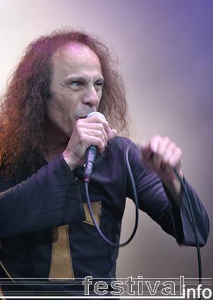 Dio (Ronnie James) op Waldrock 2005 foto