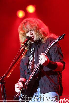 Megadeth op Waldrock 2005 foto