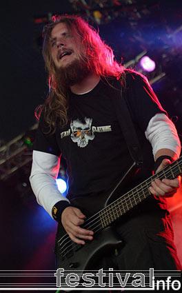 Meshuggah op Waldrock 2005 foto