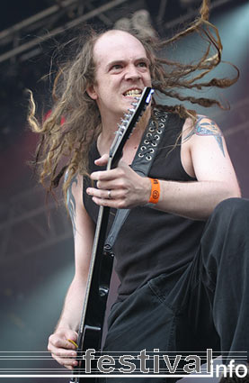 Strapping Young Lad op Waldrock 2005 foto