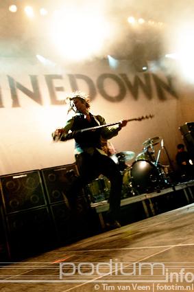 Shinedown op Shinedown - 15/11 - Melkweg foto