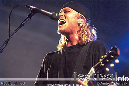 Puddle Of Mudd op Lowlands 2002 foto