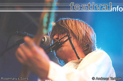 Rosemary's Sons op Lowlands 2002 foto