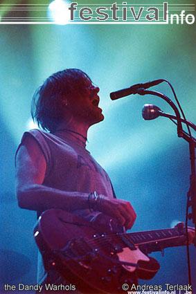 The Dandy Warhols op Lowlands 2002 foto