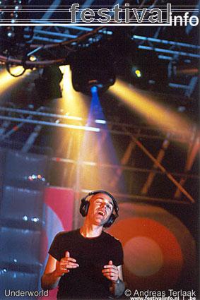 Underworld op Lowlands 2002 foto