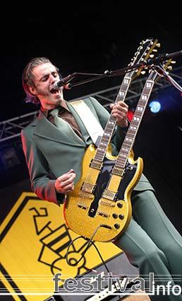 Triggerfinger op Beeckestijn Pop 2005 foto