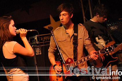 Dee Dee York op Eurosonic/Noorderslag 2010 foto