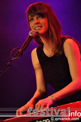 Laura Jansen op Eurosonic/Noorderslag 2010 foto