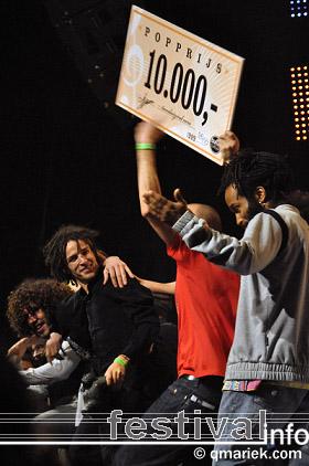 Kyteman's Hiphop Orkest op Eurosonic/Noorderslag 2010 foto