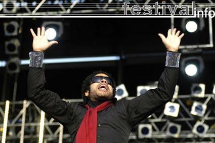 Foto Lenny Kravitz op Rockin' Park 2005