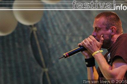 Foto The Haunted op Roskilde 2005