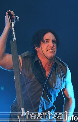 Foto Nine Inch Nails op Rock Werchter 2005
