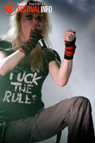 Arch Enemy op Paaspop Schijndel 2010 foto