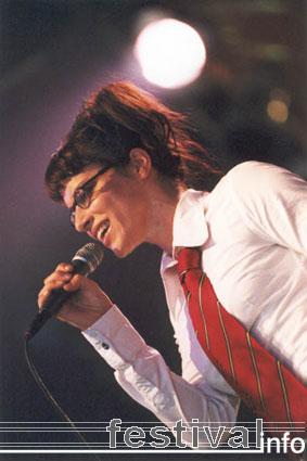 Ellen ten Damme op Lowlands 2001 foto