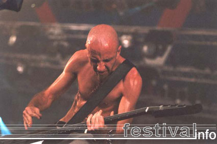 System Of A Down op Lowlands 2001 foto