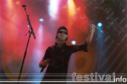 Live op Lowlands 2001 foto