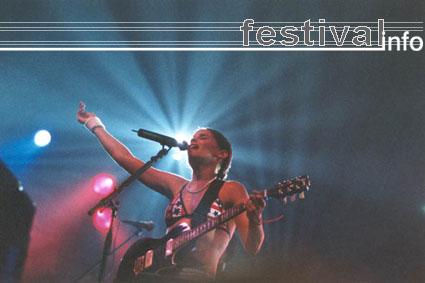 Nelly Furtado op Lowlands 2001 foto