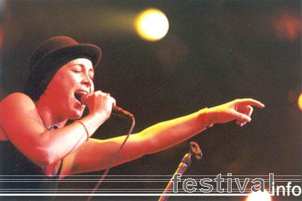 Anouk op Lowlands 2001 foto