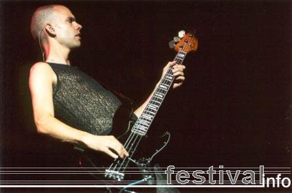 Placebo (UK) op Lowlands 2001 foto