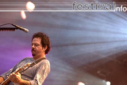 Foto Steve Lukather op Bospop 2005