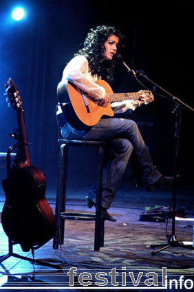 Foto Katie Melua op North Sea Jazz 2005