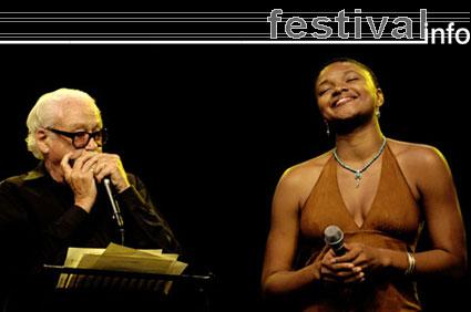 Toots Thielemans op North Sea Jazz 2005 foto