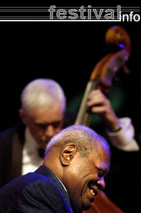 Oscar Peterson op North Sea Jazz 2005 foto