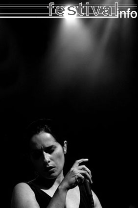 Cristina Branco op North Sea Jazz 2005 foto