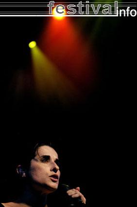 Foto Cristina Branco op North Sea Jazz 2005