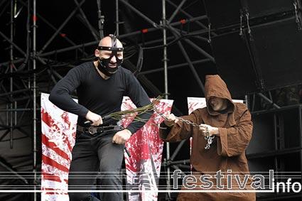 Die Apokalyptischen Reiter op Earthshaker Fest foto