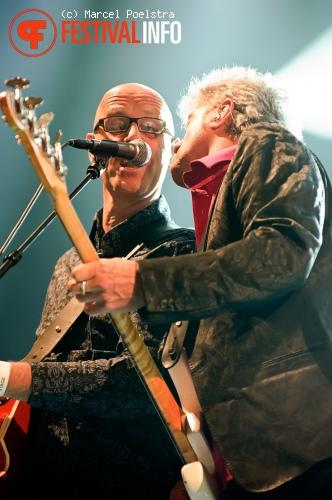 Foto De Dijk op Dauwpop 2010