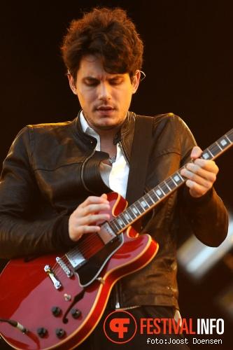 John Mayer op Pinkpop 2010 foto