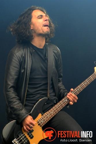 Danko Jones op Pinkpop 2010 foto