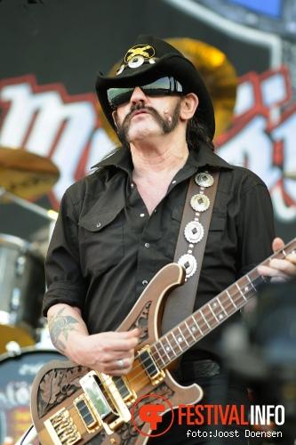 Motörhead op Pinkpop 2010 foto