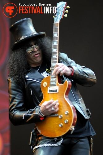 Slash op Pinkpop 2010 foto