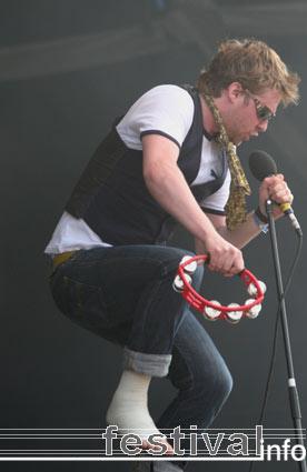 Kaiser Chiefs op Pukkelpop 2005 foto