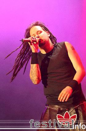 Korn op Pukkelpop 2005 foto