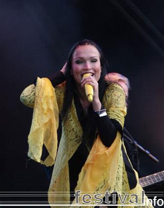 Nightwish op Pukkelpop 2005 foto
