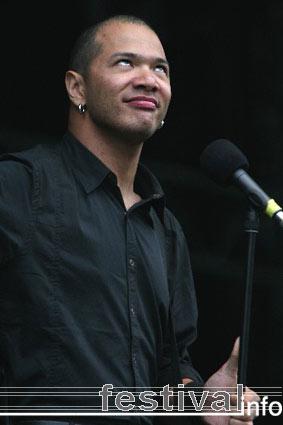 Danko Jones op Pukkelpop 2005 foto