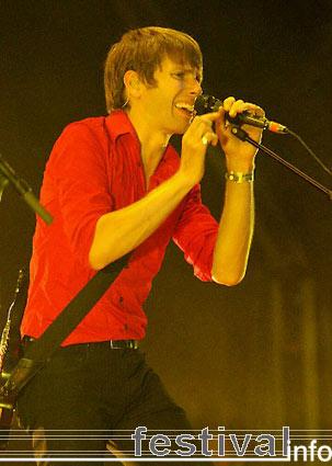 Franz Ferdinand op Pukkelpop 2005 foto