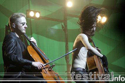 Apocalyptica op Lowlands 2005 foto