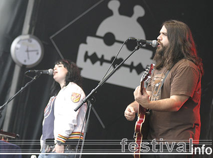 The Magic Numbers op Lowlands 2005 foto