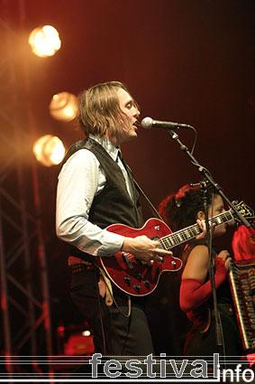 Arcade Fire op Lowlands 2005 foto