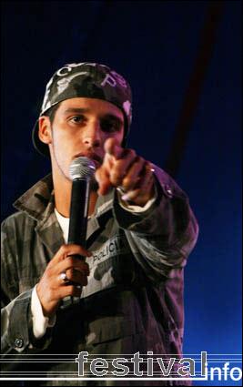 Foto Ali B op Artquake 2005