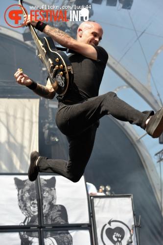 Rise Against op Rockin' Park foto