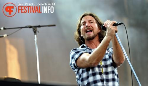 Pearl Jam op Rockin' Park foto