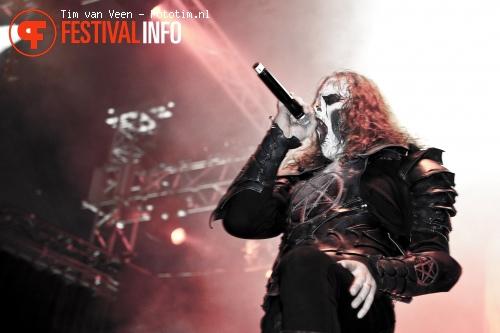 Dark Funeral op Graspop 2010 foto